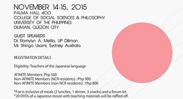 22nd Philippine Nihongo Teachers' Forum