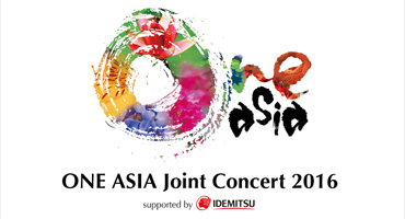 ONE ASIA – Joint Concert 2016