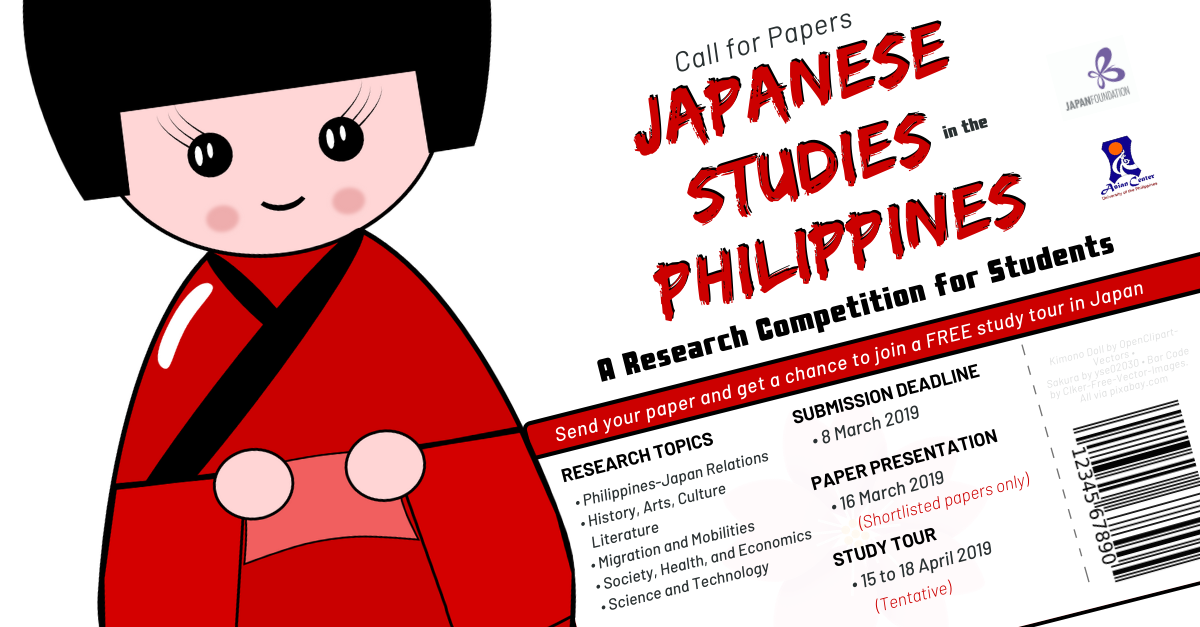 Call for Papers | Japanese Studies in the Philippines: A